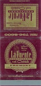 La_Fuente_Restaurant_5182_Mowry_Avenue_near_Nimitz_Fremont_California_matchbook
