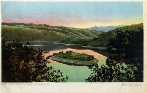 Lake Chabot near Oakland, Cal.