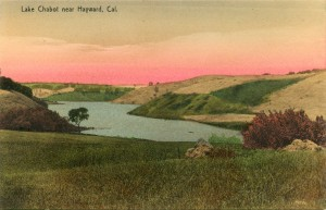 Lake Chabot near Hayward, Cal.