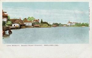 Lake Merritt, Sacred Heart Convent, Oakland, Cal.