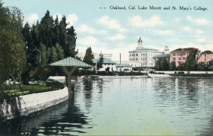 Lake Merritt and St. Mary's College, Oakland, Cal.