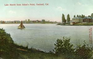 Lake Merritt from Adam's Point, Oakland, Cal.