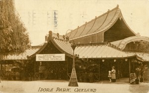 Largest Skating Rink in the World, Idora Park, Oakland, California, mailed 1912
