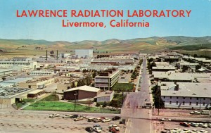 Lawrence Radiation Laboratory, Livermore, California, mailed 1967