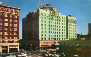 Leamington Hotel, 19th and Franklin, Oakland, California
