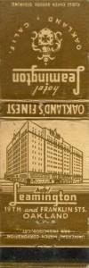 Leamington Hotel, Oakland's Finest, Oakland, California