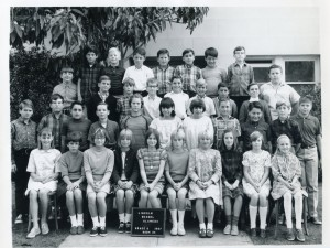 Lincoln School, Alameda, California, Grade 6, 1967