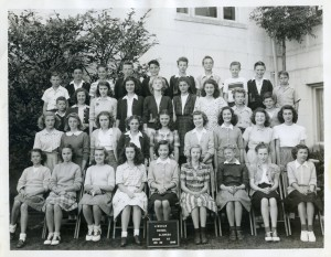 Lincoln School, Alameda, California, Grade 7, 1946
