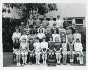 Lincoln School, Alameda, California, Room 20,  Miss Anderson, 1968