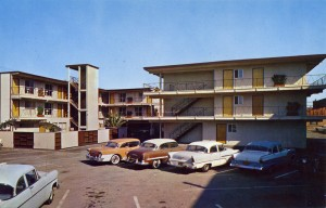 Linoaks Motel, Lincoln Ave. and Oak Street, Alameda, California