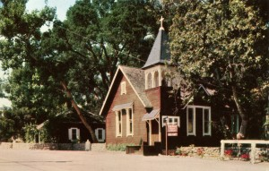 Little Brown Church of Sunol, built in 1885, Sunol, California