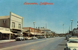 South First Street, Looking East, Livermore, California