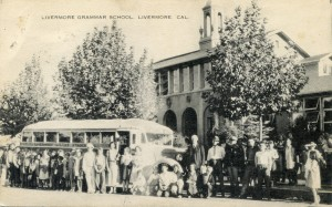 Grammar School, Livermore, Cal., mailed 1940
