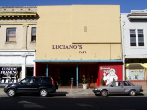 Luciano's Restaurant, 2319 Santa Clara Ave., Alameda, California  March 2004