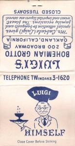 Luigis, Jack London Square, Oakland, California