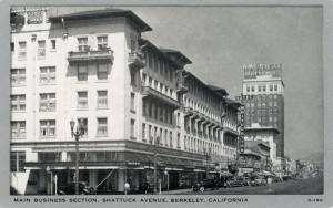 Main Business Section, Shattuck Avenue, Berkeley, California