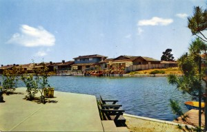Man made lagoons allow leisure living, Alameda, California