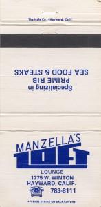 Manzellas Loft, 1275 W Winton, Hayward, California