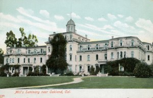 Mill's Seminary near Oakland, California