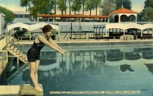 Miss Nellie Schmidt, Champion Girl Swimmer, Oakland, Cal.