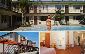 Nimitz Motel, 555 Lewelling Blvd., San Leandro, California, mailed 1972