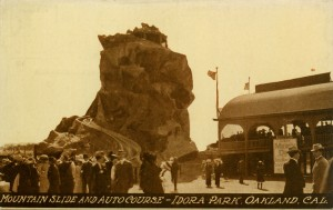 Mountain Slide and Autor Course - Idora Park, Oakland, Cal.