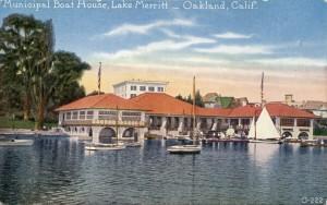 Municipal Boat House, Lake Merritt, Oakland, Calif.