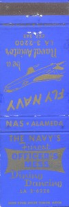 N.A.S. Commissioned Officers' Mess, Alameda, California