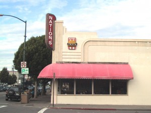 Nation's Giant Hamburgers and Great Pies, 1432 Webster St., Alameda, California