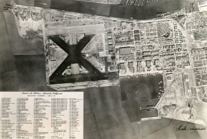 Aerial View, Naval Air Station, Alameda, California, 1945