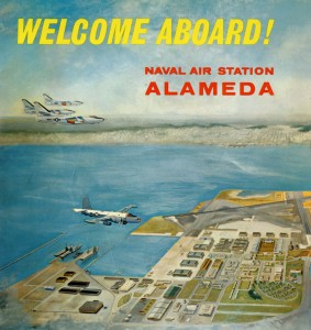 Naval Air Station Unofficial Guide Directory, Alameda, California, circa 1964