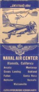 Naval Air Center, Alameda, California