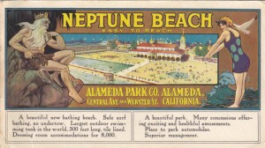 Neptune Beach, Alameda, California, mailed 1917