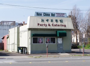 New China Hut, 642 Lincoln Ave., Alameda, California May 2003