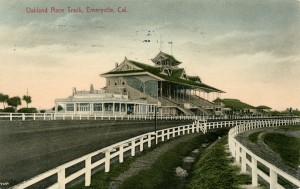 Oakland Race Track, Emeryville, California, mailed 1907
