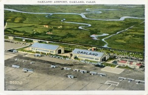Oakland Airport, Oakland, Calif., mailed 1932