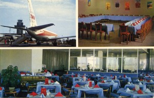 Oakland Airport, Savrin Room, mailed 1965