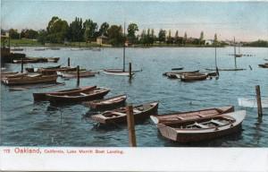 Boat Landing, Lake Merritt, Oakland, California