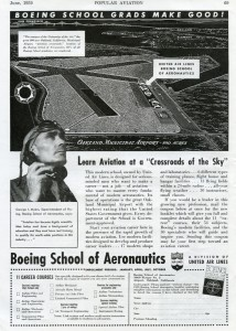 Boeing School of Aeronautics, Oakland Airport, 1939