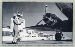 Oakland, California, Municipal Airport to be four times present size.