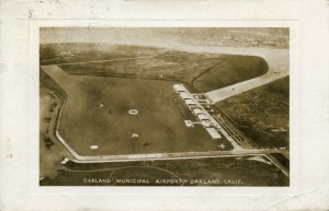 Oakland Municipal Airport, mailed 1935