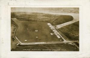Oakland Municipal Airport, mailed 1935