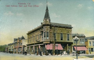 Alameda, Cal., Odd Fellows Hall and Post Office