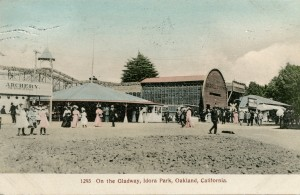 On the Gladway, Idora Park, Oakland, California, mailed 1909