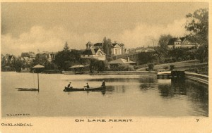 On Lake Merrit, Oakland, Cal.