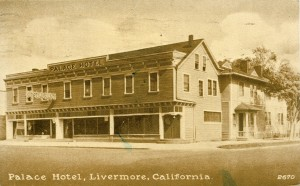 Palace Hotel, Livermore, California, mailed 1930
