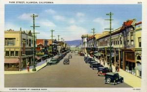 Park Street, Alameda, California