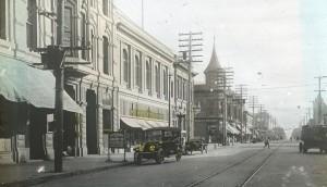 Park Street from Glass Slide, Alameda, California