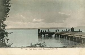 Park Street Wharf, Alameda, California