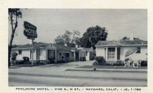Phylmore Motel, 21180 E. 14th St., Hayward, California